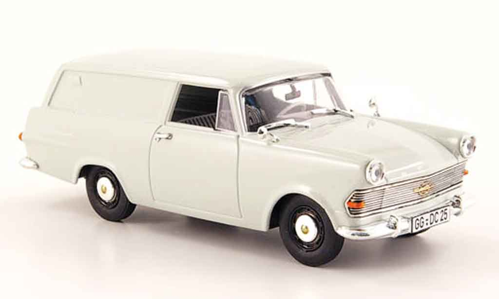 Opel Rekord 1/43 Bing p2 kasten grise miniature