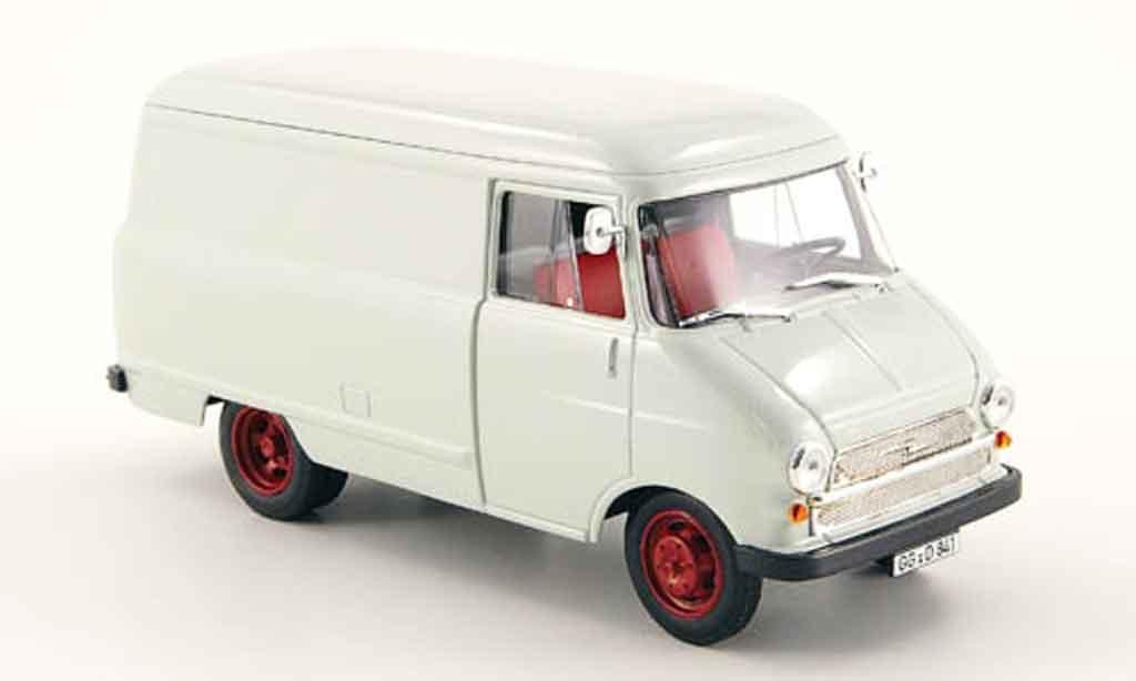 Opel Blitz 1/43 Bing a kasten grise miniature