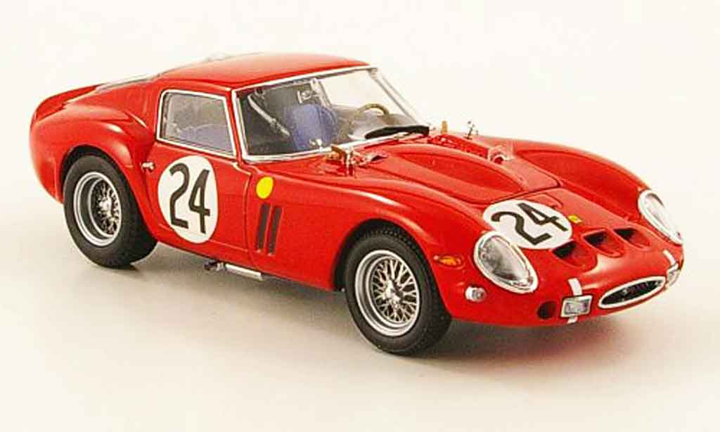 Ferrari 250 GTO 1963 1/43 Kyosho no.24 24h le mans modellautos