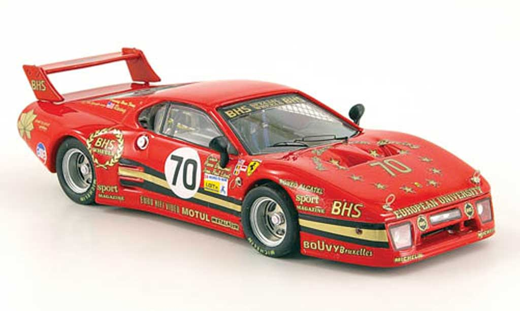 Ferrari 512 BB 1/43 Best LM No.70 24h Le Mans 1982 Baird / Dieudonne / Libert diecast model cars