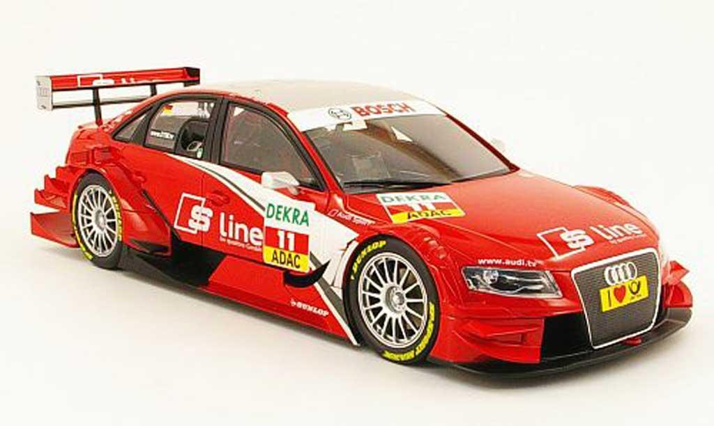 Audi A4 DTM 1/18 Norev stw no.11 team rosberg 2009 miniature