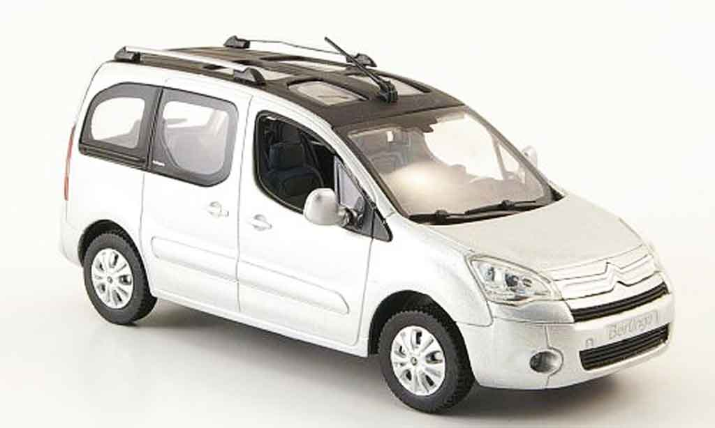 Citroen Berlingo 1/43 Norev multispace grise metallisee 2008 miniature