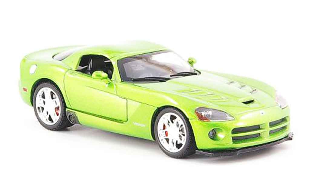 Dodge Viper SRT 10 1/43 Norev SRT10 Coupe green 2008 diecast