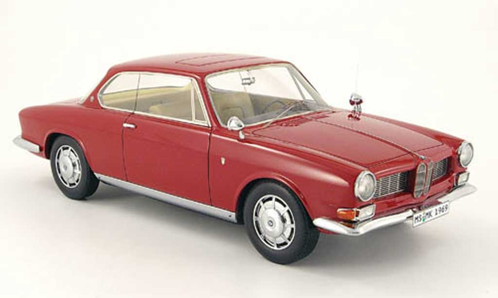Bmw 3200 1/18 Neo CS bertone rouge 1961 miniature
