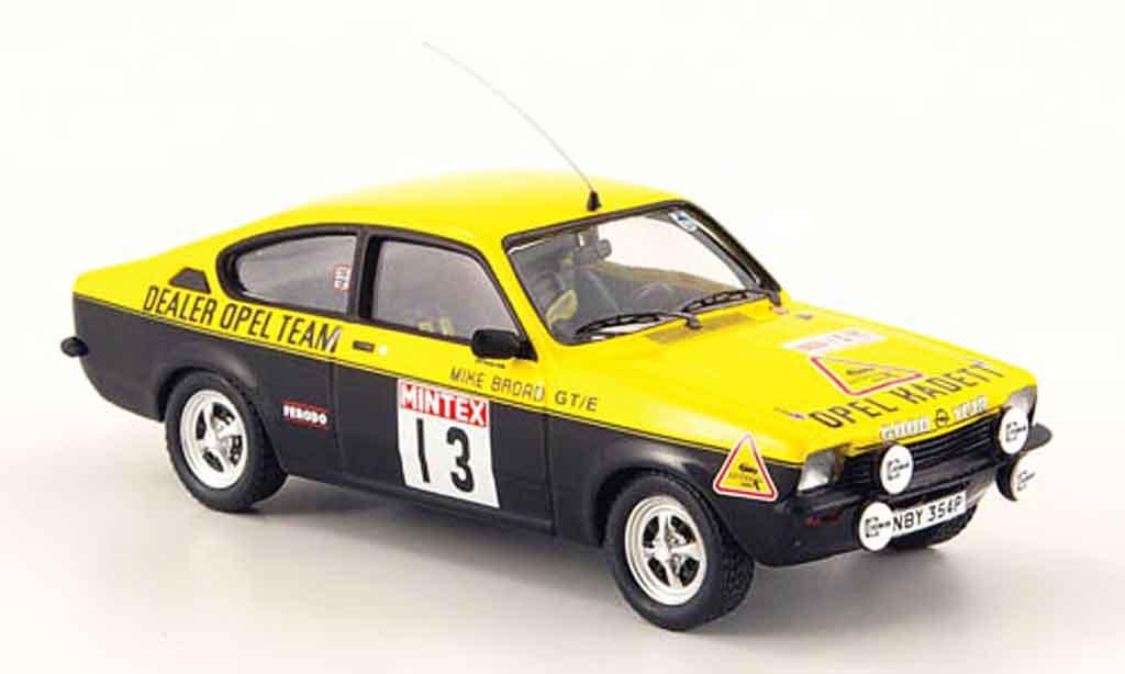 Opel Kadett GT 1/43 Trofeu e no.13 rohrl broamintex rallye 1977 miniature