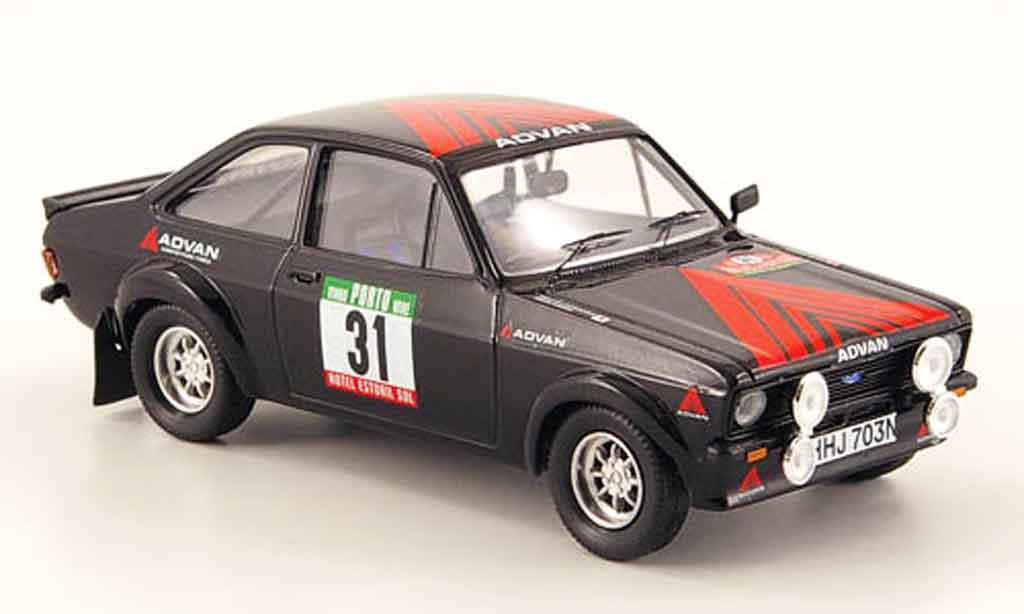 Ford Escort RS 1800 1/43 Trofeu No.31 Rally Portugal 1981 MK2 miniature