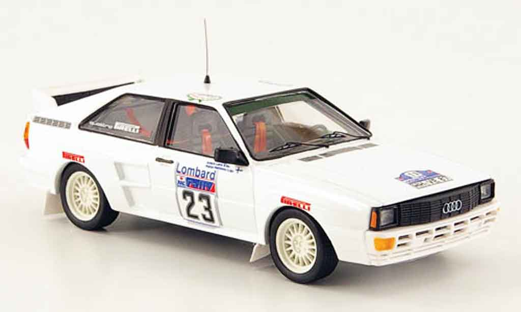 Audi Quattro 1/43 Trofeu No.23 Laine Hokkanen Rally England 1983 miniature