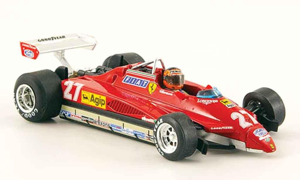 Ferrari 126 1982 1/43 Brumm C2 turbo no.27 g.villeneuve gp san marino miniature