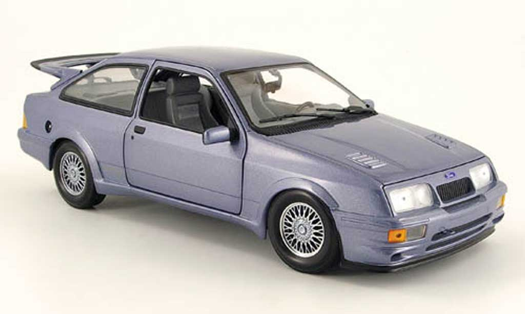 Ford Sierra Cosworth RS 1/18 Minichamps bleu grise 1988 miniature