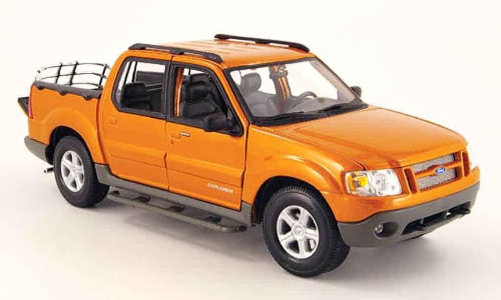 Ford Explorer Sport Trac 1/18 Maisto cuivre miniature