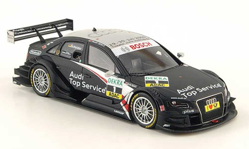 Audi A4 DTM 1/43 Spark No.1 TopService/GW:plus T.Scheider 2009 modellautos