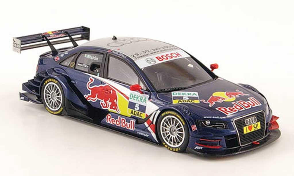 Audi A4 DTM 1/43 Spark No.5 Red Bull M.Ekstrom 2009 diecast model cars