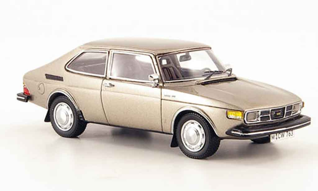 Saab 99 1/43 Neo Combi Coupe grise edition liavecee 300 1975
