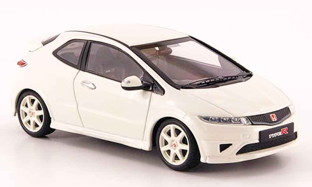 Honda Civic Type R 1/43 Ebbro white diecast model cars