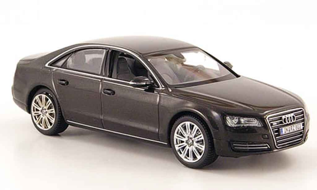 Audi A8 1/43 Kyosho gray 2010 diecast