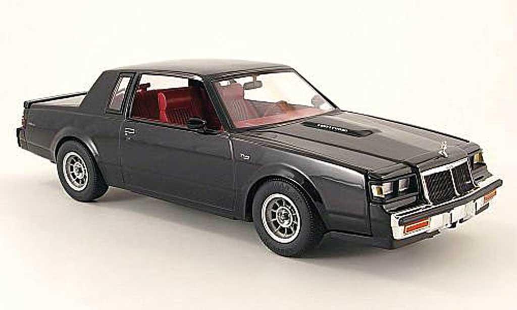 Buick T-Type 1/18 GMP noire 1986 miniature