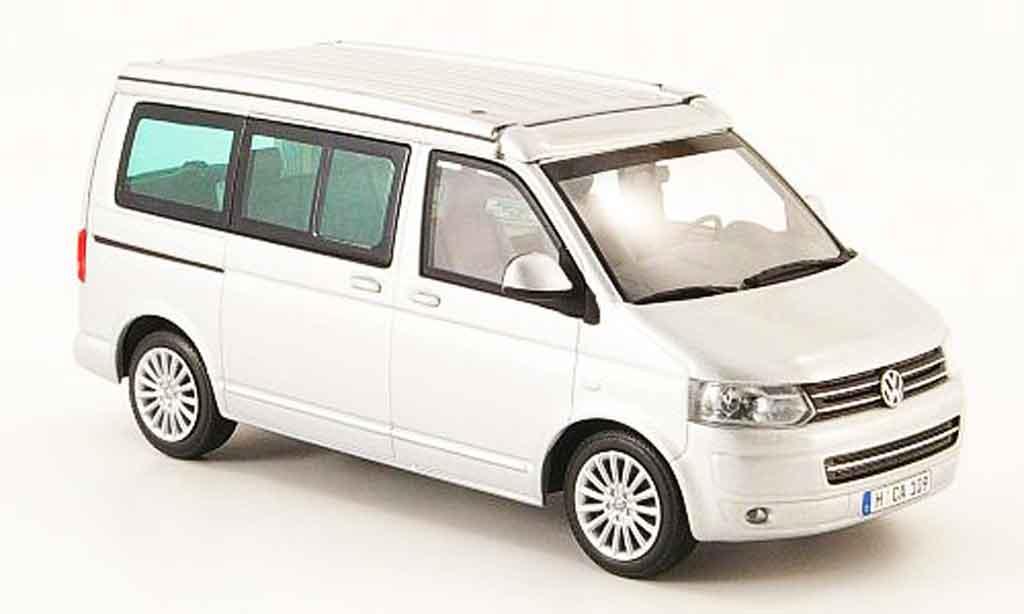 Volkswagen Combi 1/43 Minichamps t5 california grise metallisee 2009 miniature