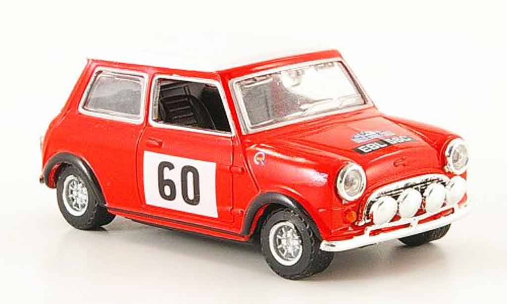 Austin Mini Rallye 1/43 Oxford No.60 Rally Monte Carlo miniature