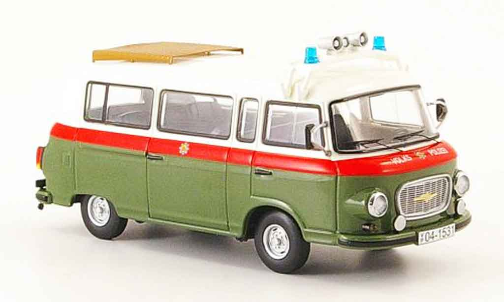 Volkswagen Combi 1/43 Schuco barkas b 1000 volkspolice diecast