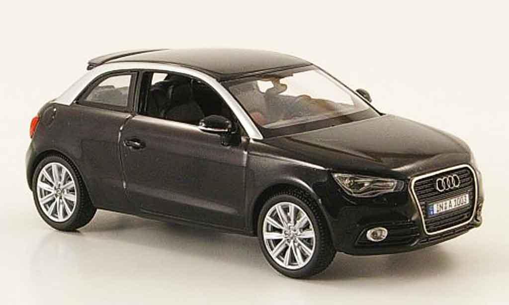 Audi A1 1/43 Kyosho noire 2010 miniature