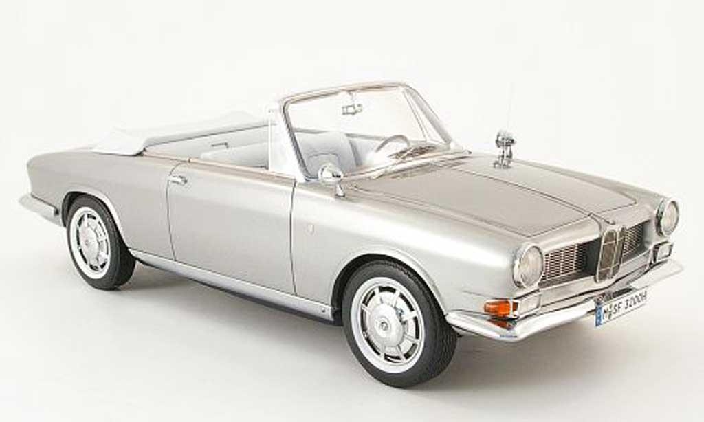 Bmw 3200 1/18 Neo cabrio bertone grise miniature