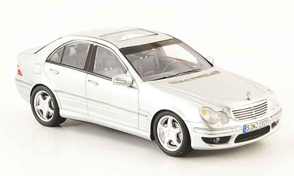 Mercedes Classe C 1/43 Spark C32 AMG (W203) grise metallisee miniature