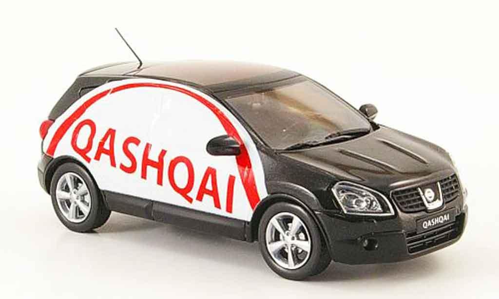 Nissan 350Z 1/43 J Collection JGTC Qashqai schwarz Werbefahrzeug Linkslenker 2007 modellautos