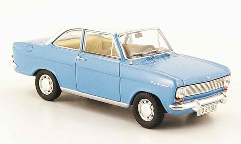 Opel Kadett A 1/43 Starline coupe bleu blanche 1963 miniature