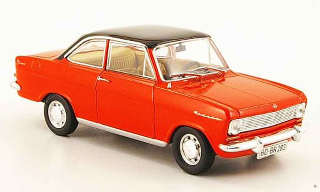 Opel Kadett A 1/43 Starline coupe red black 1963 diecast