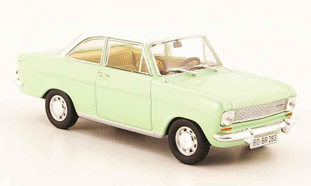Opel Kadett A 1/43 Starline coupe grun blanche 1963 miniature