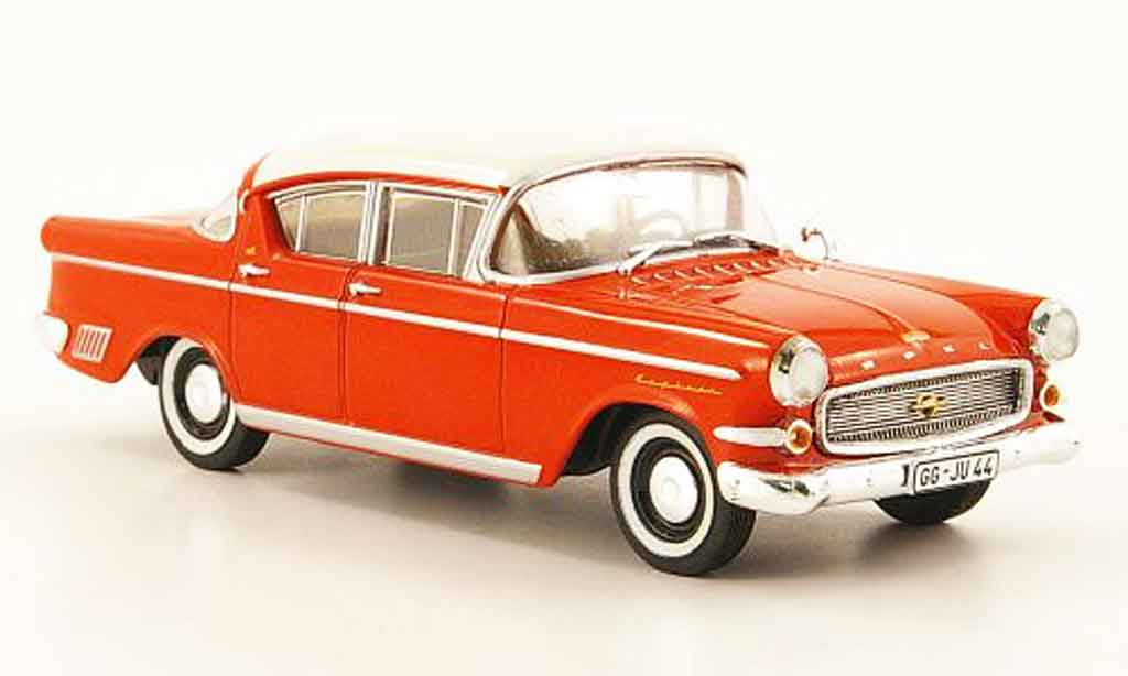 Opel Kapitan 1/43 Starline p 2.5 rouge blanche 1958 miniature