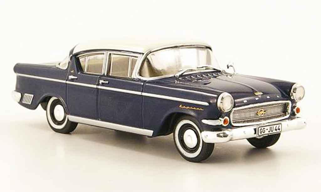Opel Kapitan 1/43 Starline p 2.5 bleu blanche 1958 miniature
