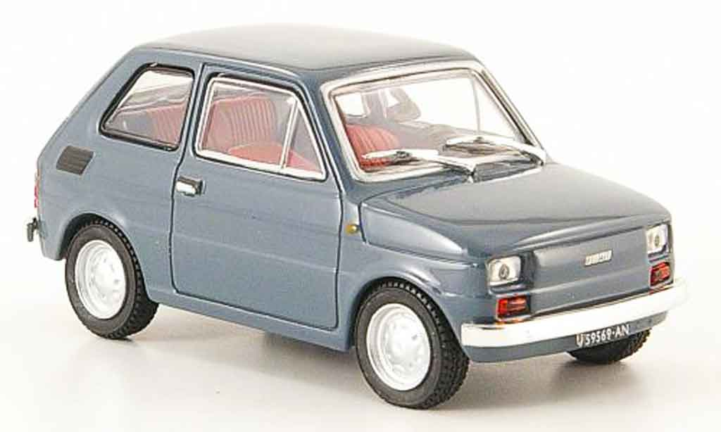 Fiat 126 1/43 Starline grise 1972 miniature