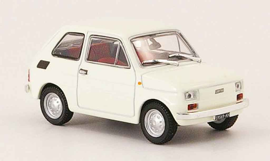 Fiat 126 1/43 Starline white 1972 diecast