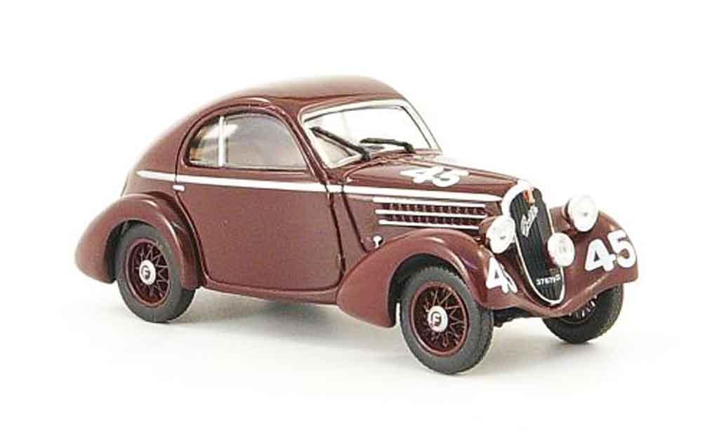 Fiat 508 1/43 Starline CS Balilla Berlinetta No.45 Mille Miglia 1936 miniature