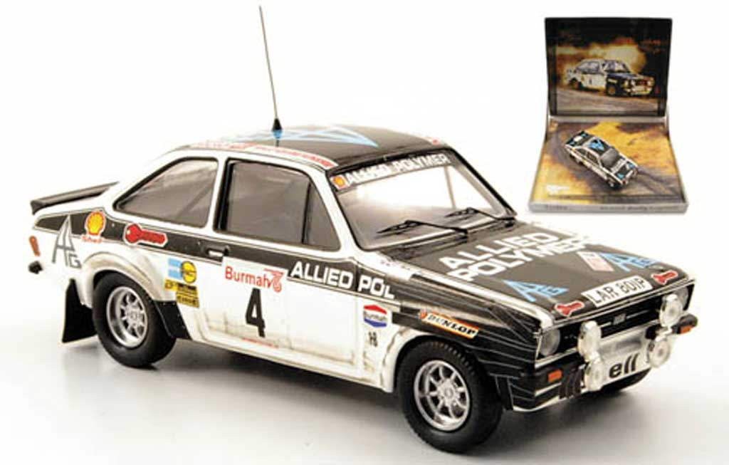 Ford Escort RS 1800 1/43 Trofeu No.4 Rally Grossbritannien 1976 miniature