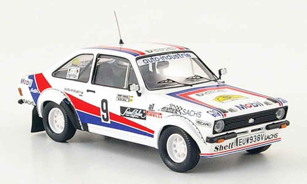 Ford Escort RS 1800 1/43 Trofeu No.9 Rally Deutschland 1983 MK2 miniature