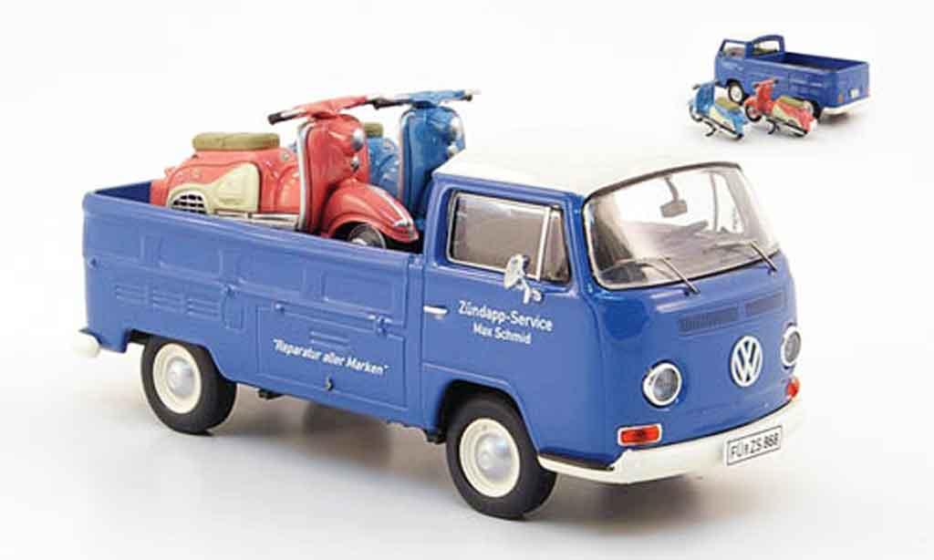 Volkswagen Combi 1/43 Premium Cls t2a pritsche zundapp service avec ladegut diecast