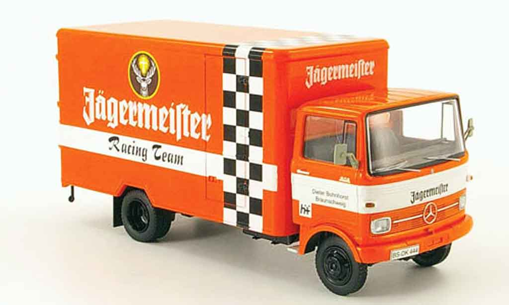 Mercedes LP 608 1/43 Schuco Kasten Jagermeister Racing Team miniature