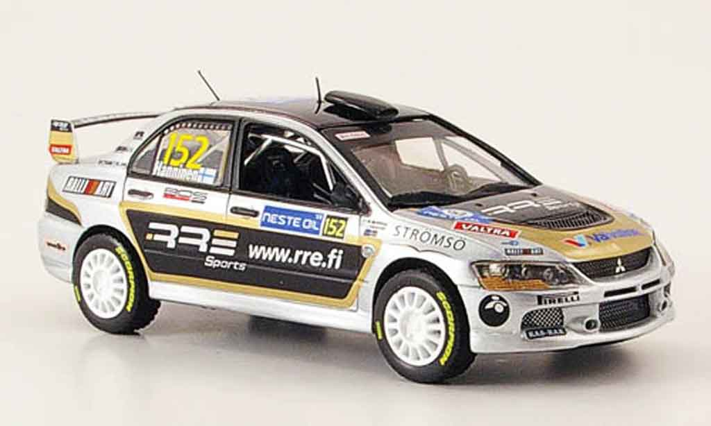 Mitsubishi Lancer Evolution IX 1/43 Vitesse Gr.N No.152  PWRC Rally Finnland 2008 miniature