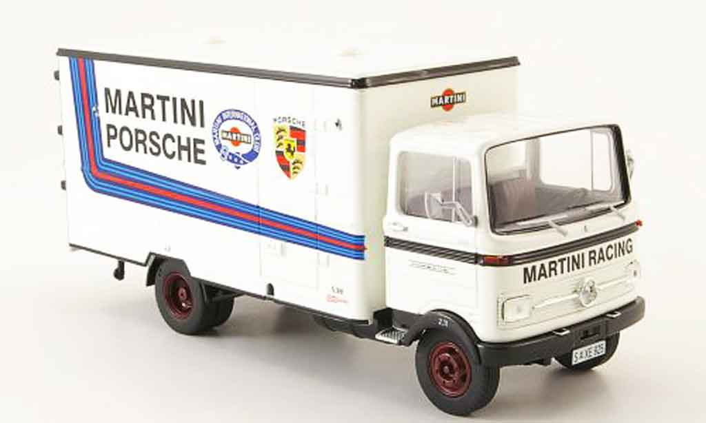Mercedes LP 608 1/43 Premium Cls Martini Koffer LKW