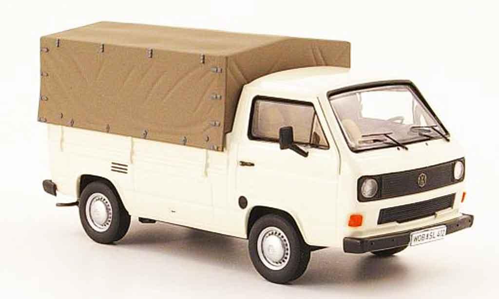 Volkswagen Combi 1/43 Premium Cls t3b pritsche cremeblanche miniature