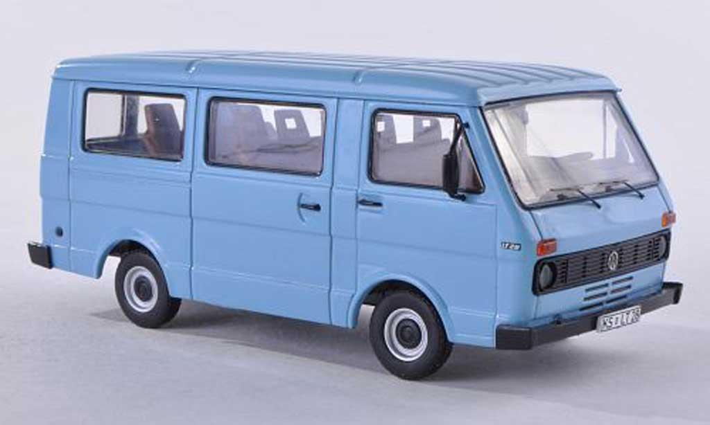 Volkswagen LT28 1/43 Premium ClassiXXs bus bleu miniature