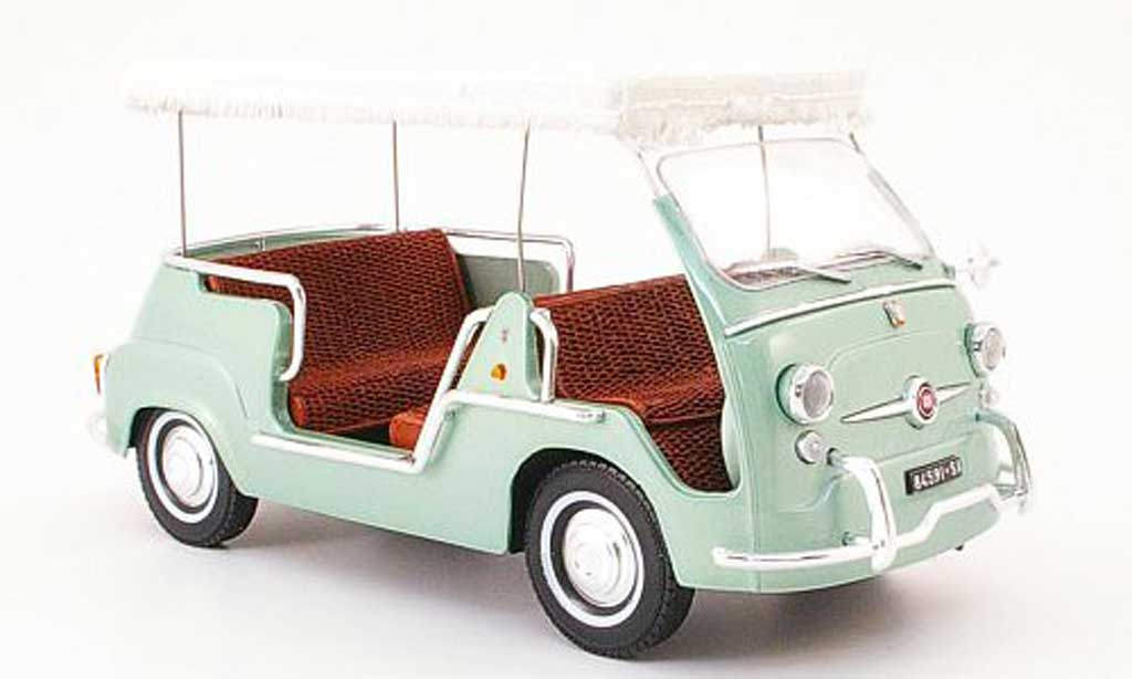 Fiat 600 1/18 Mini Miniera multipla taxi cabrio costiera amalfitana 1962 diecast