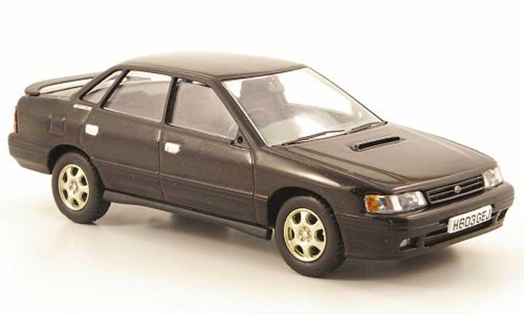 Subaru Legacy RS Turbo 1/43 Vanguards noire miniature