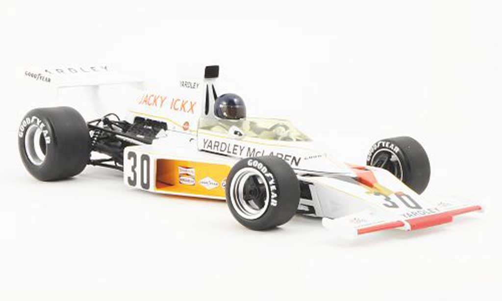 McLaren F1 1973 1/18 Minichamps Ford M23 No.30 Yardley J.Ickx GP Deutschland 1973