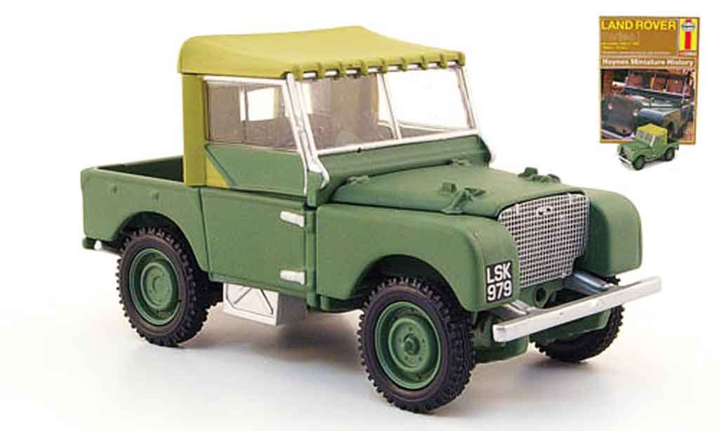 Land Rover 80 1/43 Corgi verte miniature