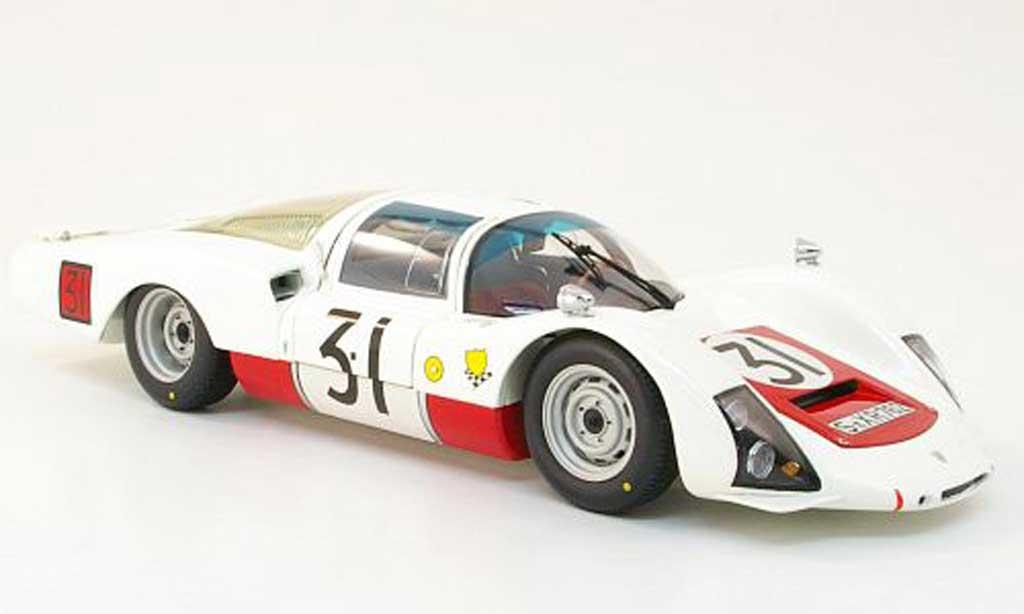 Porsche 906 1966 1/18 Minichamps lh no.31 porsche sytem engineering 24h le mans h.herrmann / h.linge miniature
