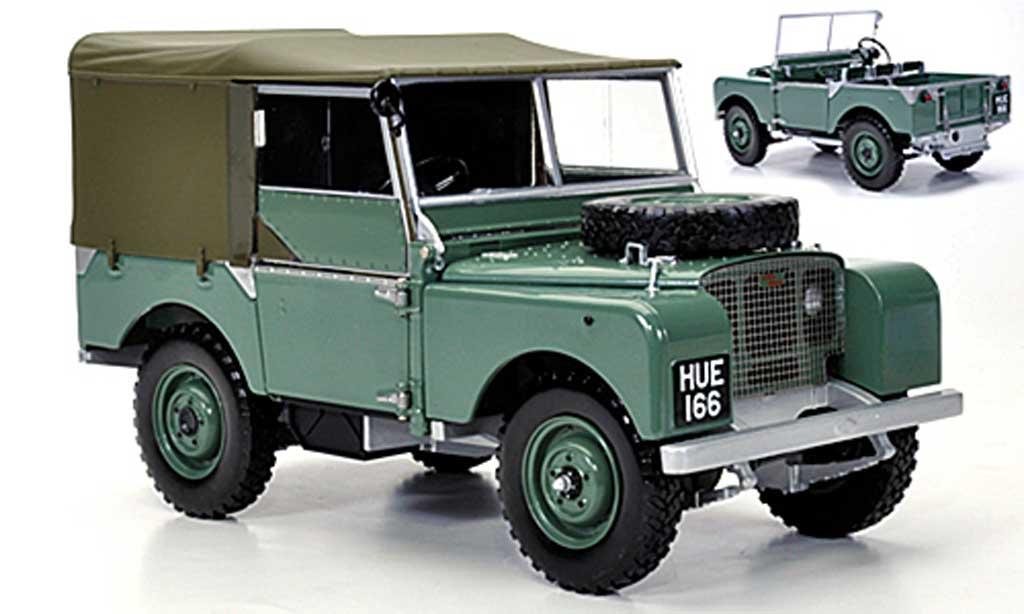 Land Rover 80 1/18 Minichamps verte RHD