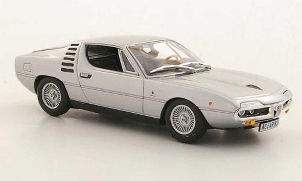 Alfa Romeo Montreal 1/43 Minichamps grise 1972 miniature